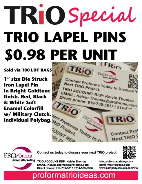 Pins Sold Per 100 Unit Bags.