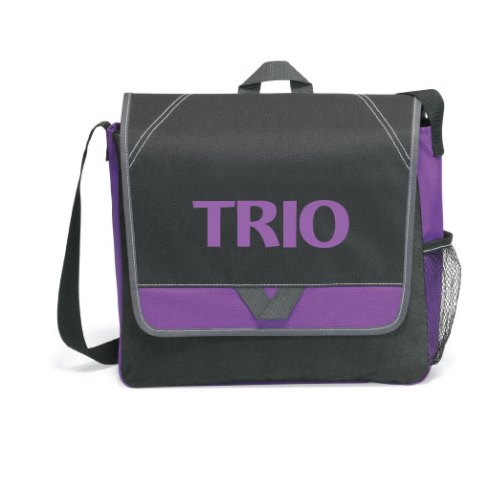 Stock TRIO logo on Purple Elation bags. Now available on theTRIOstore.com at case pricing.