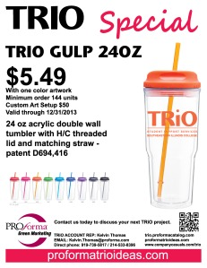 TRIO Gulp Flyer