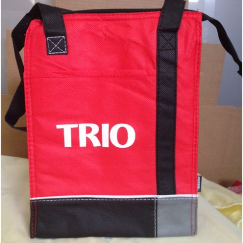 TRIO KOOZIE® TRI-TONE LUNCH SACK. $3.