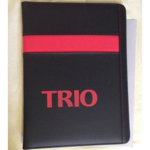 TRIO UNDERLINE PADFOLIO. $6