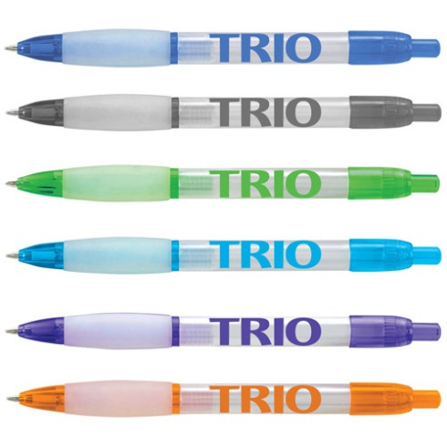 The Chiller is one of the pens now offered with stock TRIO logo.