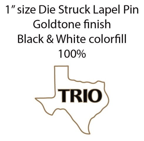 TEXAS TRIO pin