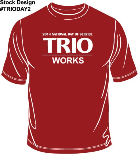 Shirt design #TRIODAY2