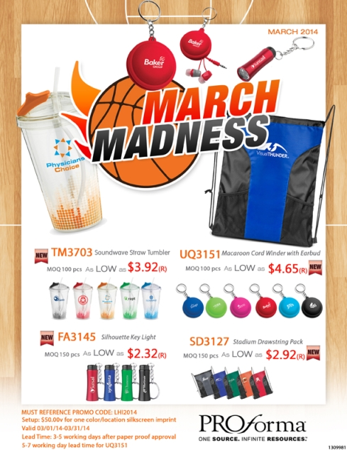 March Flyer