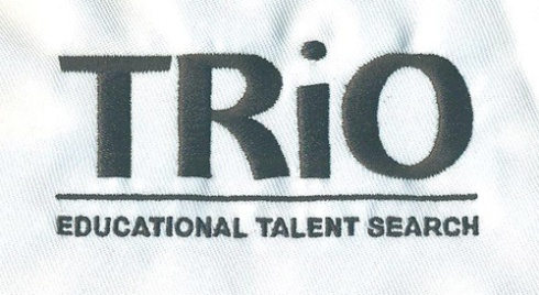 Embroidery for TRIO EDUCATIONAL TALENT SEARCH now on file and ready for clothing orders.