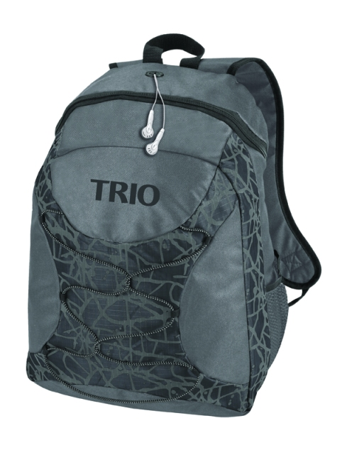 Black on Black stock TRIO logo.