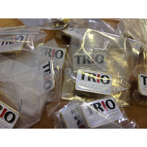 TRIO Student Support Services Lapel Pins Ready to Ship