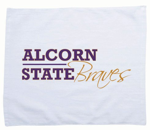 "Two color imprint, 11"" x 17"", 1.0lb./doz., velour hemmed, 100% cotton rally towel."