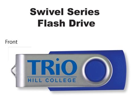 Swivel Drive. One side imprint.