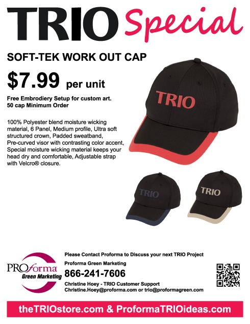 100% Polyester blend moisture wicking material, 6 Panel, Medium profile, Ultra soft structured crown, Padded sweatband, Pre-curved visor with contrasting color accent, Special moisture wicking material keeps your head dry and comfortable, Adjustable strap with Velcro® closure.