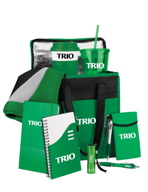 Stock TRIO logo on Green Kit