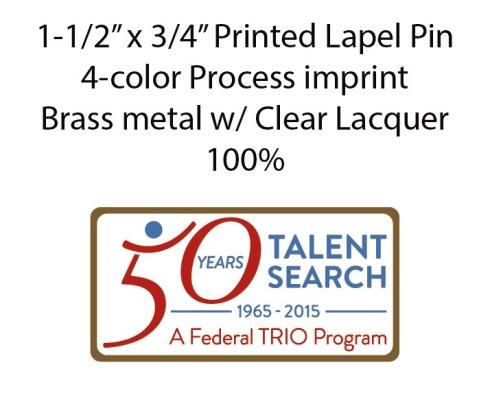 50th UB printed pin E-Proof layout