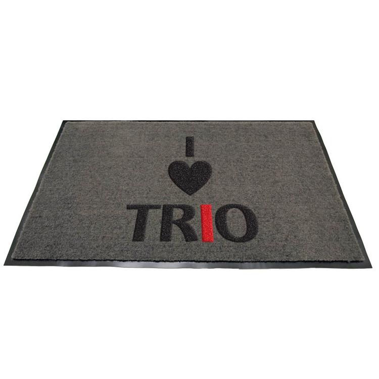 I Heart Trio Floor Mat Proforma Trio Ideas