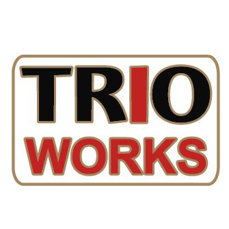 """""""TRO"""" capital letters in black, with """"I"""" in red. 1"""" x ~ 1/2"""" Die Struck Lapel Pin Bright Goldtone Finish Black, White, Red (PMS 186c) Soft Enamel Colorfill. Individually polybagged"""