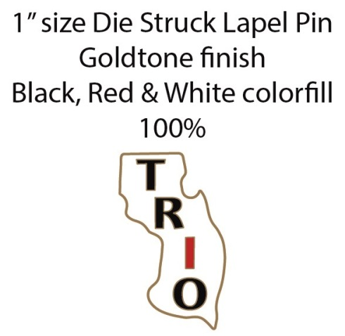 NJ Lapel Pin