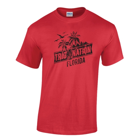 TRIO NATION FLORIDA TEE SHIRT
