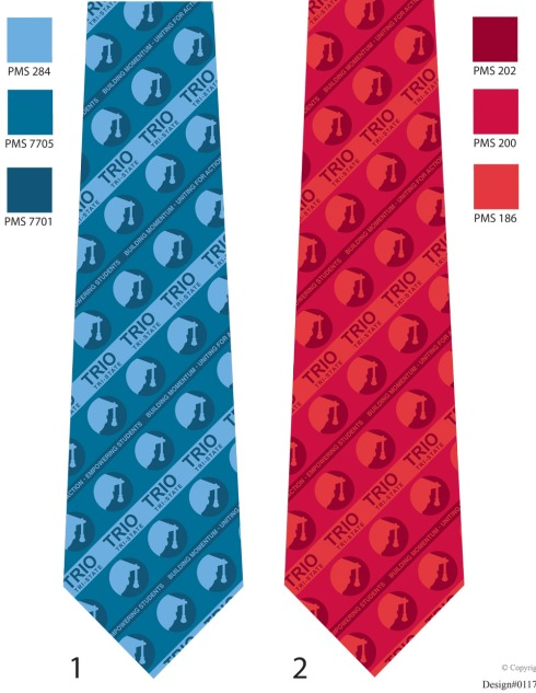 You suggest the design, we create the tie.