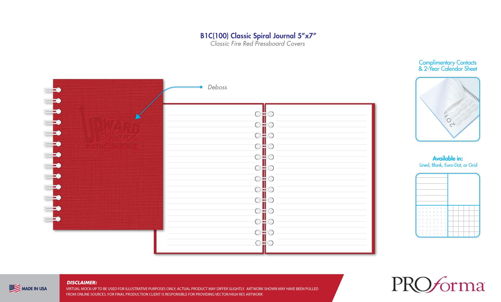 TRIO Custom Journals | Proforma TRIO Ideas